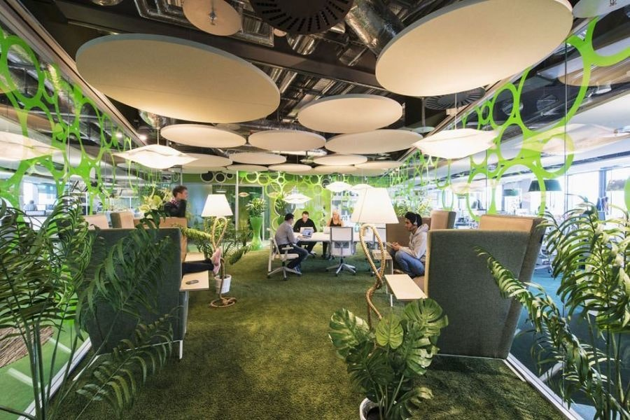 Google Office Biophilic Design
